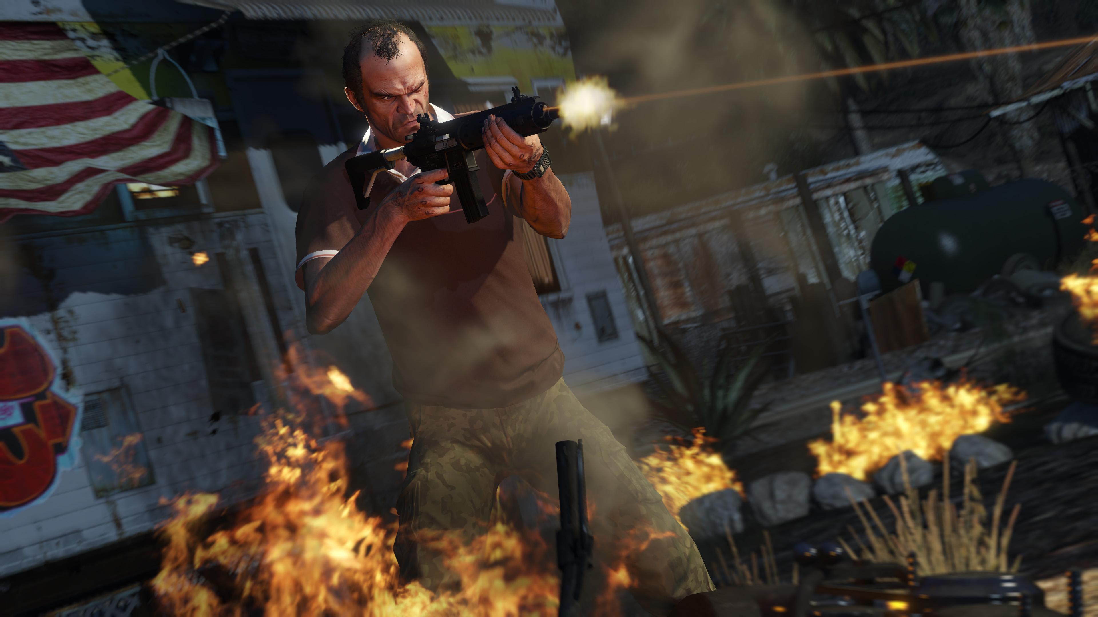 Ekraanitõmmis mängust Grand Theft Auto (GTA) 5